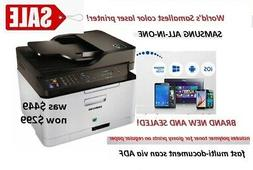 NEW! Samsung Color Laser Printer all-in-one scan/fax/copy/pr