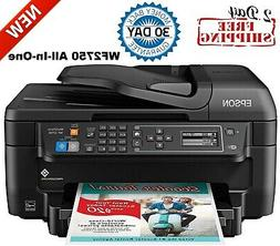 Epson WF-2750 All-in-One Wireless Color Printer with Scanner