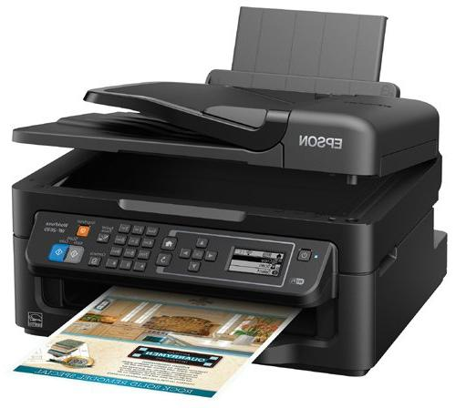 Epson Business AIO Color Print, Fax, Mobile Size