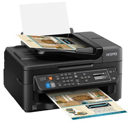 Epson WF-2630 Business Print, Fax, Size