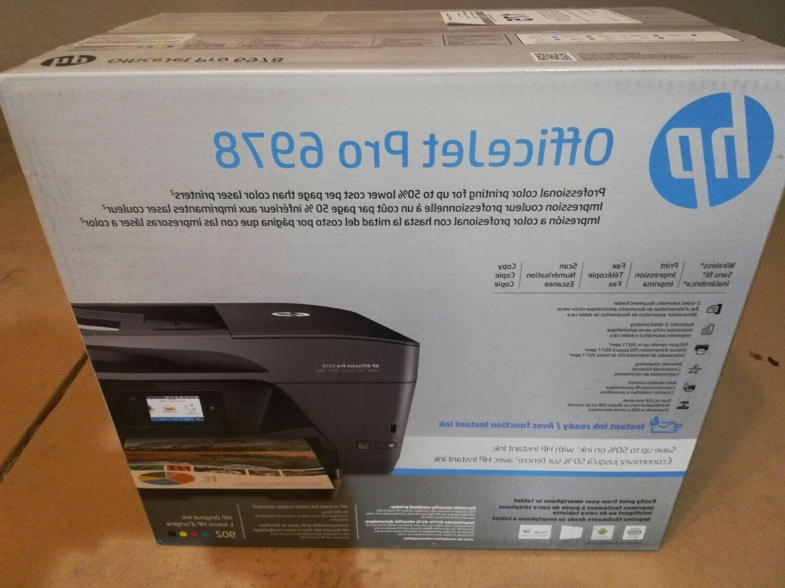 brand new officejet pro 6978 all in