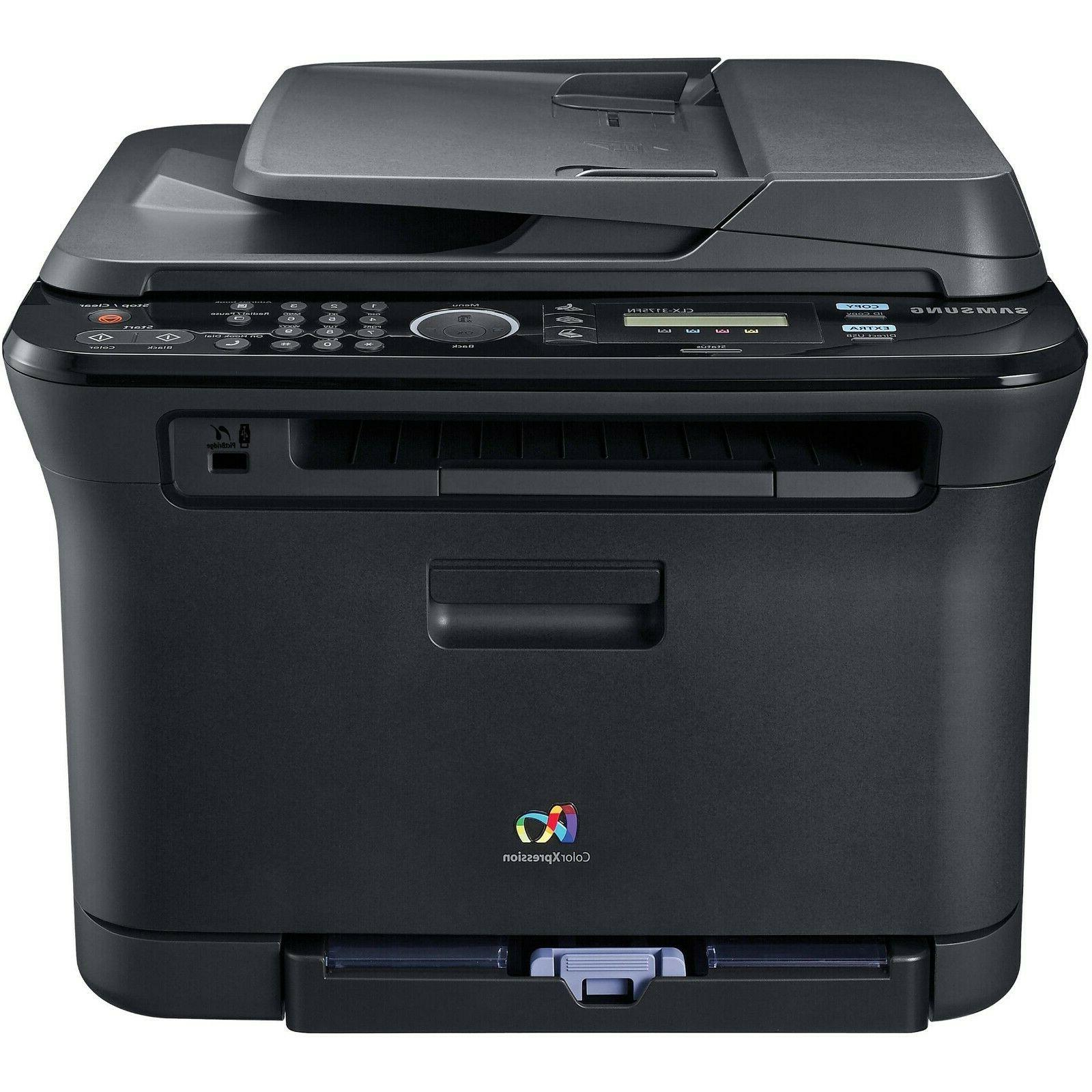 clx 3175fw all in one laser printer