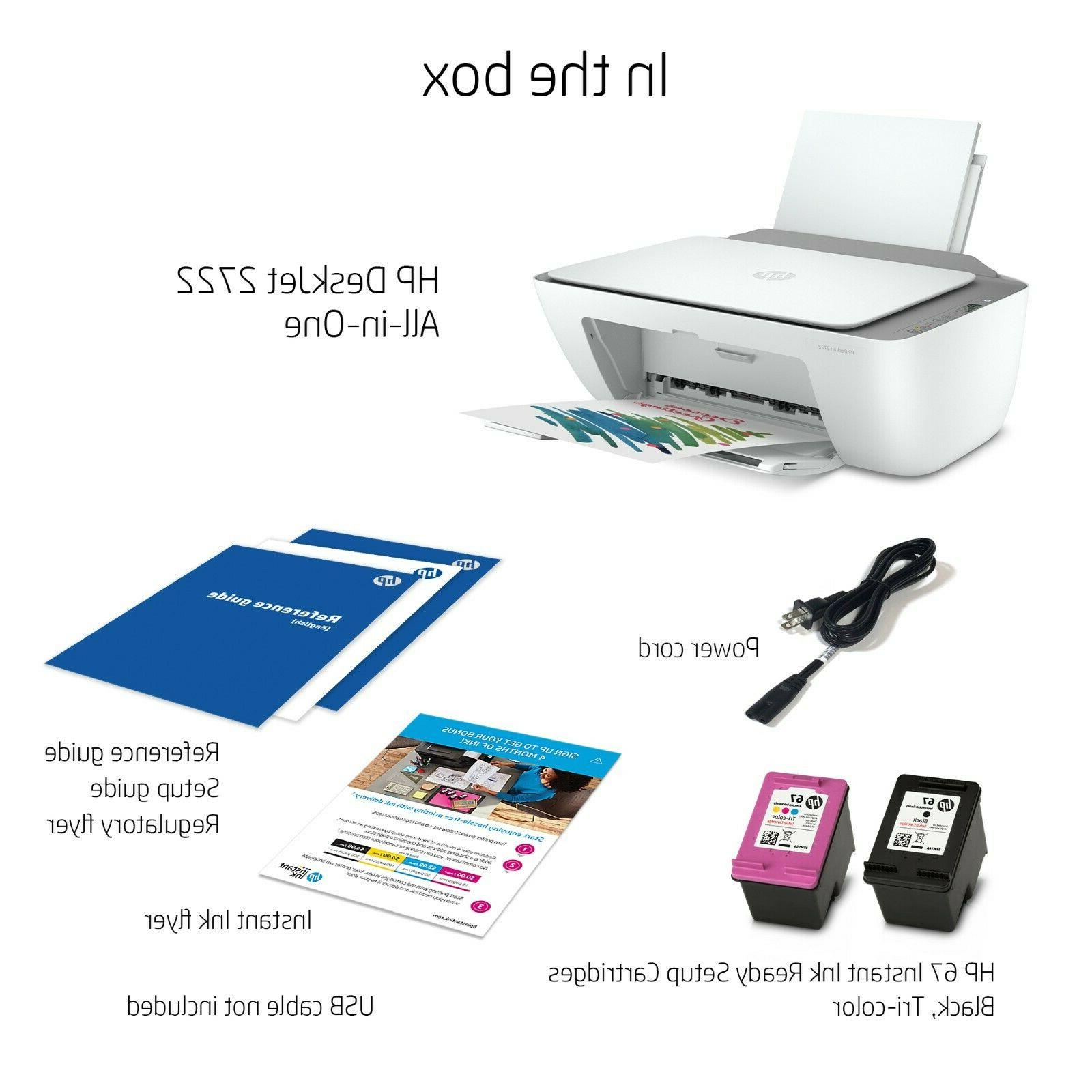 🌟 All-in-One Color Inkjet Printer 🌟 Ready