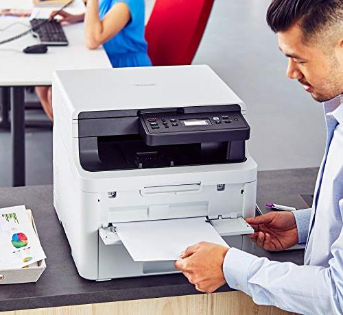 Brother Compact Digital Color Printer with Convenient Flatbed Scan, Printing Duplex Printing, Amazon Replenishment Enabled