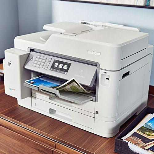 Brother Inkjet INKvestment Inkjet All-in-One Printer with Printing, NFC to 1-Year of in-Box