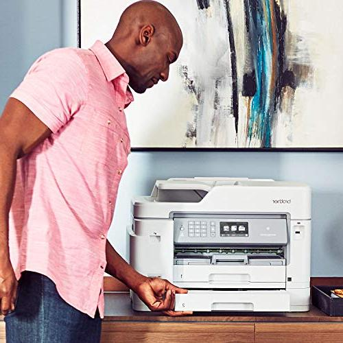 Brother Inkjet INKvestment Color Inkjet All-in-One Printer with Duplex Printing, to 1-Year of in-Box