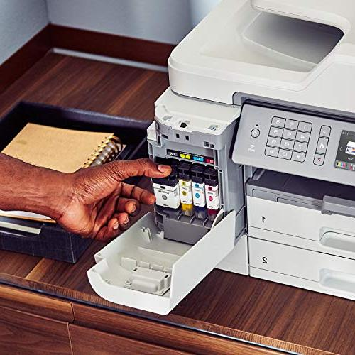 Brother Inkjet INKvestment Color Inkjet Printer Printing, NFC and Up to of in-Box