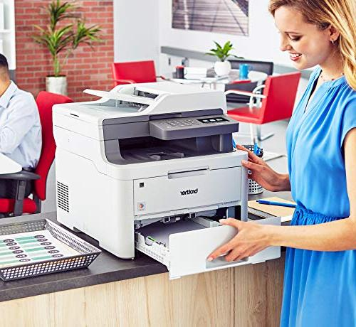 Brother MFC-L3710CW Color Laser Printer Quality with Amazon Replenishment Enabled