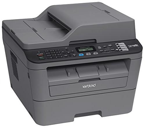 Brother MFCL2700DW All-In Laser Wireless Networking Printing, Amazon Dash