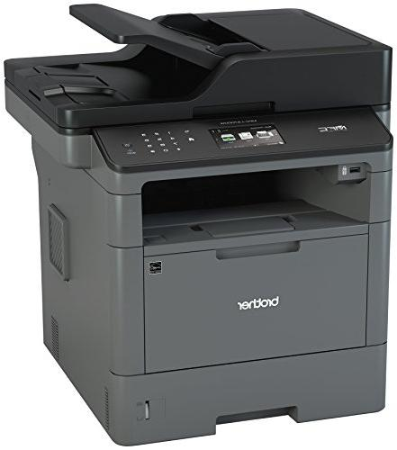 Brother Multifunction All-in-One MFC-L5700DW, Network Connectivity, Printing & Amazon Black