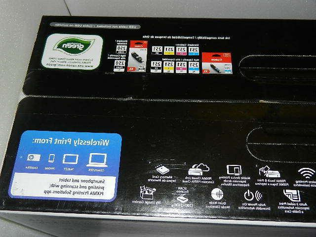 New Canon Pixma MG6620 All-In-One no ink jet