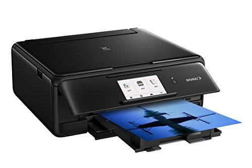 Canon All-In-One Printer with Scanner Copier: Printing, and Google Cloud compatible, Black