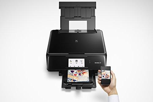 Canon Wireless All-In-One Printer with Copier: Mobile Printing, and Google Cloud Print Black