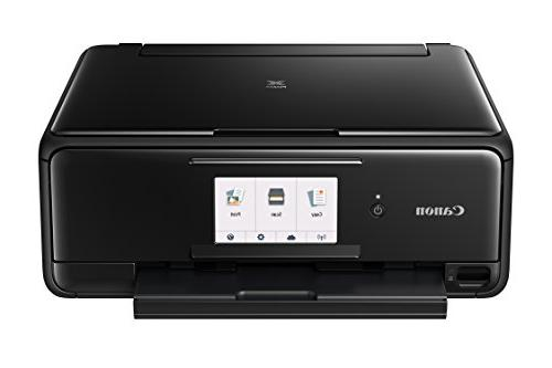 Canon Wireless All-In-One Printer with Copier: Printing, with and Google Cloud Black