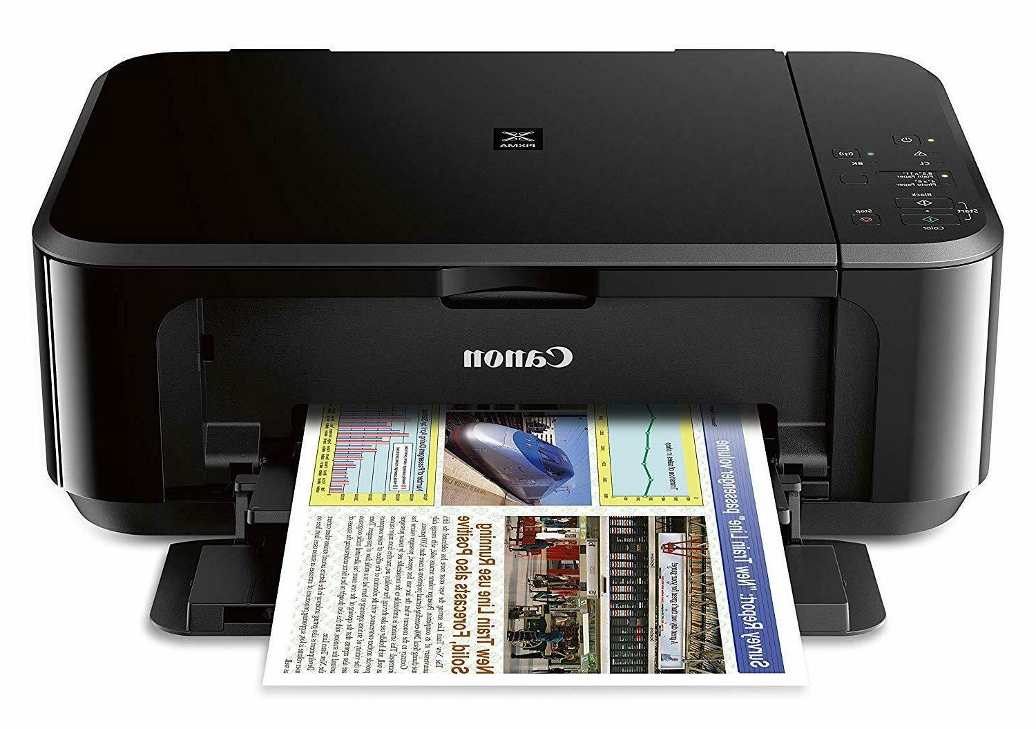 Canon PIXMA Office Wireless All-In-One Inkjet Printer, INK INCLUDED
