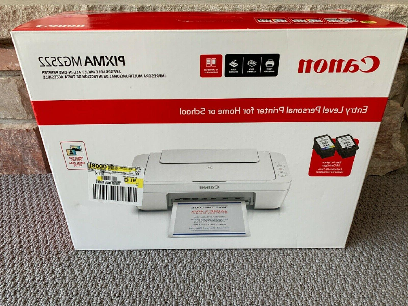 pixma mg2522 all in one color inkjet