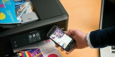 Brother Wireless Color Printer Copy Fax