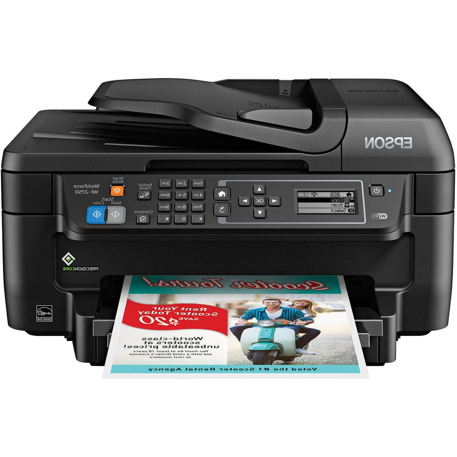 Epson Fax Scan Copy Print Office Home Wi-Fi