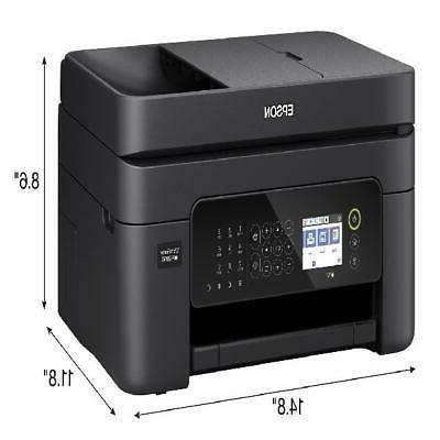Epson Wireless All-in-One Color Inkjet Printer Fax Office
