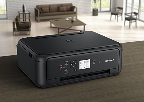 Canon TS5120 Wireless Copier: and Printing, with Airprint Google Cloud compatible, Black