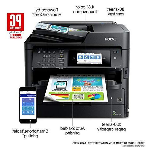 Epson Pro EcoTank Wireless Color Supertank Scanner, Copier, Fax and