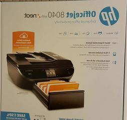 NEW  HP Officejet 8040 Wireless e-All-in-One Printer, Copy F