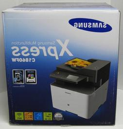 NEW Samsung SL-C1860FW Wireless Color All in One Printer Sca