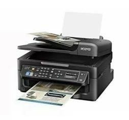 New Epson WF2630 All In One Color Print Copy Scan Fax Machin