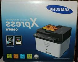 NEW Samsung Xpress SL-C460FW Color Laser All-in-One Printer
