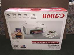 CANON PIXMA TS3122 WHITE/BLACK WIRELESS ALL-IN-ONE INK JET P